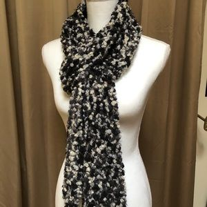 Squishy large knit scarf